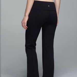 Lululemon Groove Black Flare Pants Leggings 2 or 4
